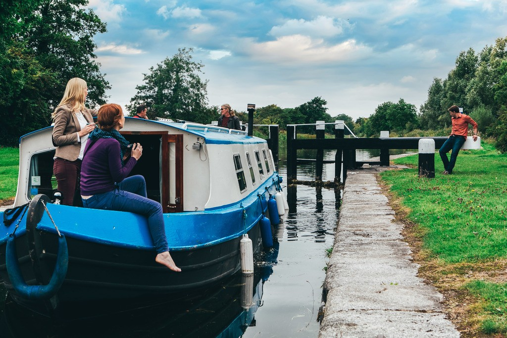 Kildare Sallins Grand Canal barge trip