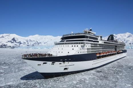 Celebrity Millennium, ML, Alaska, Hubbard Glacier, ship exterior, glacier, ice