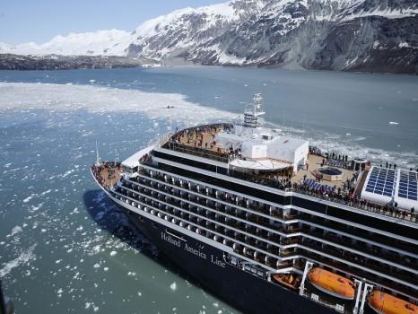 HAL Cruise Ship in Alaska (Website)