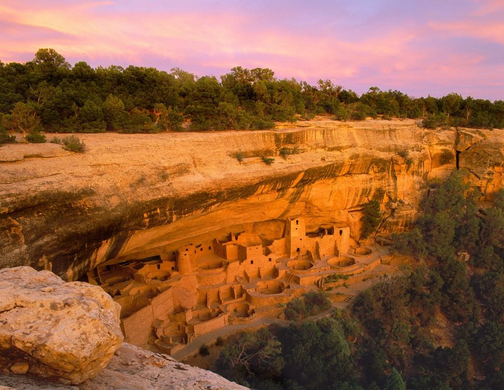 """Cliff Palace"" [Mesa Verde National Park] Colorado"