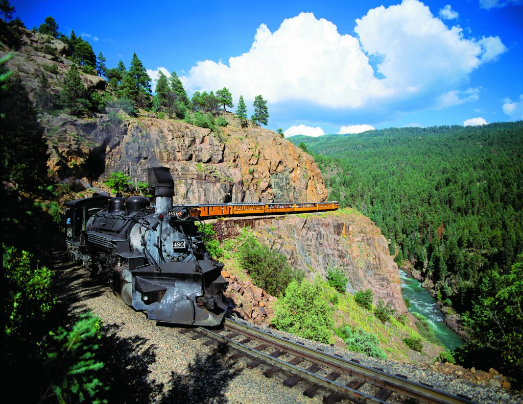 Historic railroads take visitors back to the state's mining era, with train rides on the Durango & Silverton Narrow Gauge Railroad, The Royal Gorge Route Railroad, the Georgetown Loop Railroad and the Cumbres and Toltec Scenic Railroad.