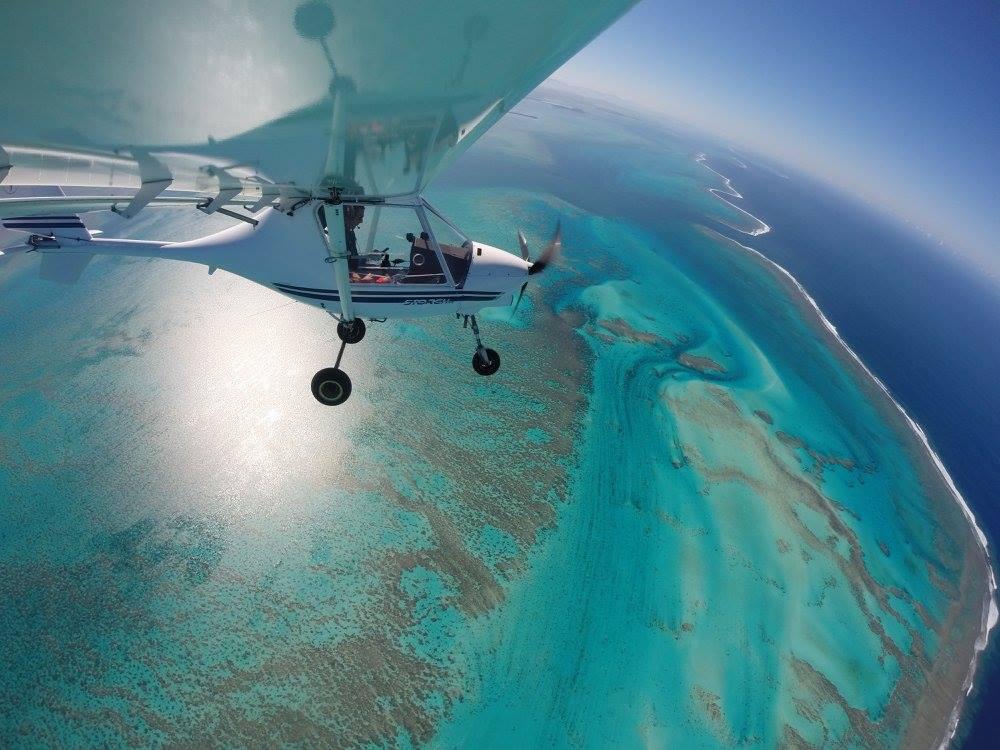 Bourail - Plane