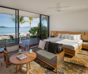 Hayman Island Beachfront Pool Villa - Bedroom