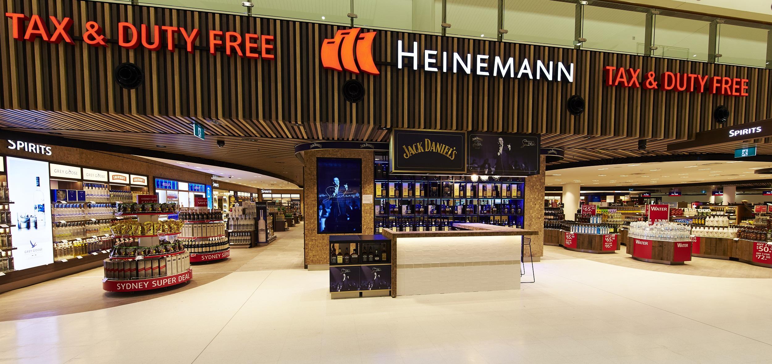 Heinemann Unveils Sydney Airport Duty Free Transformation