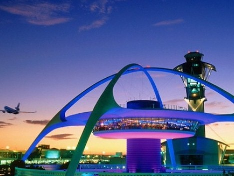 Theme Building at LAX. Credit: DiscoverL.A.