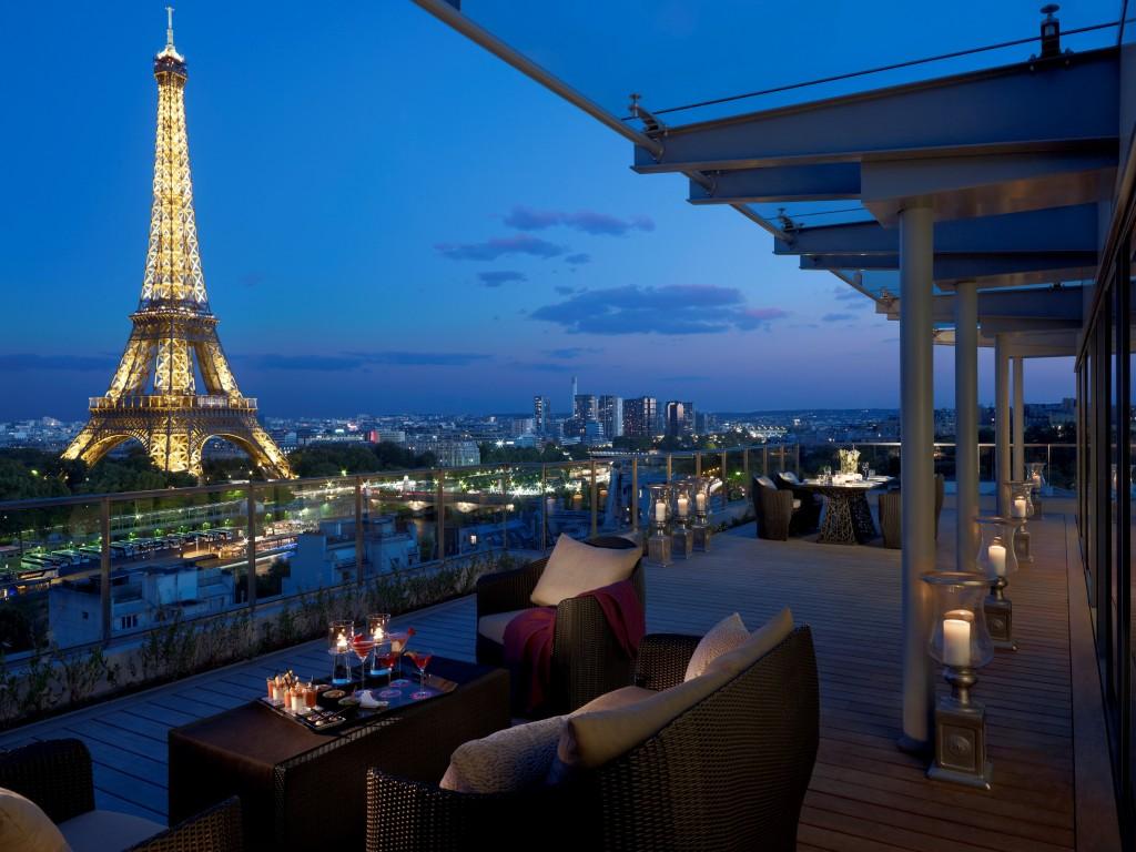 Suit(e)-Up Lounge - Suite Shangri-La - Shangri-La Hotel, Paris