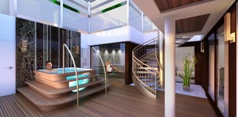 New luxury ship to shake up asian cruise scene travel weekly for Balcony deck zouk
