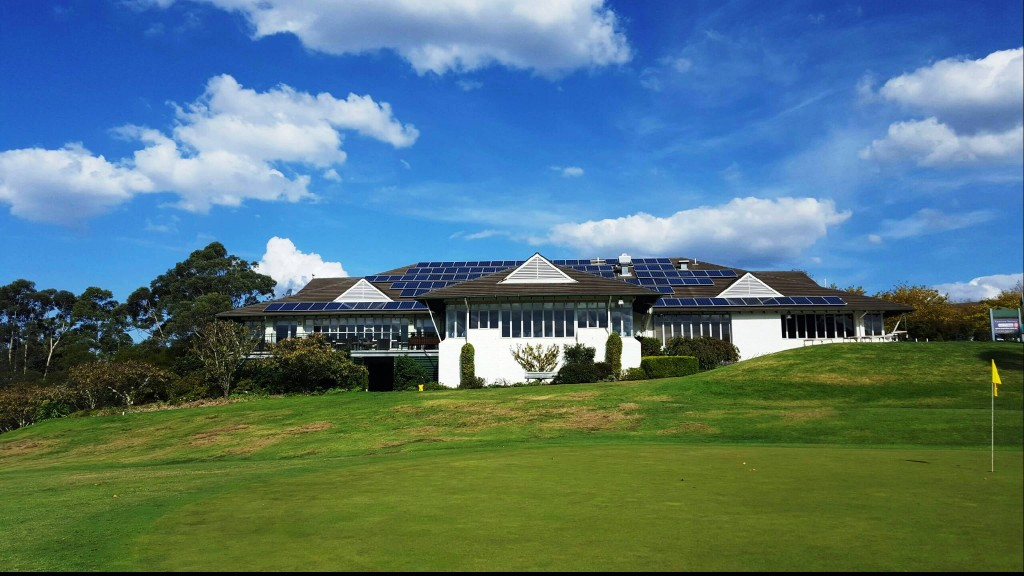 Leura golf Club solar