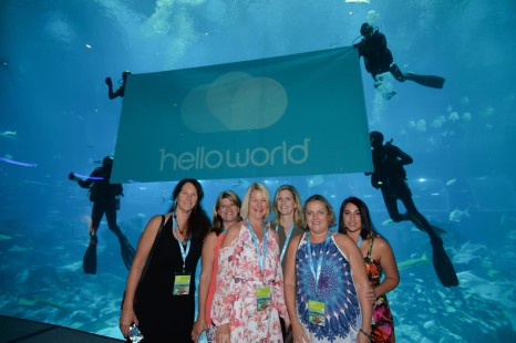 Vicki Mortimer, Merryn Clark, Dale Schultz, Catherine Suter, Lyndie Dennehy, Melodie Helberg (Tripaway Cruise & Travel)
