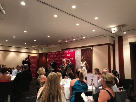 The announcement of the annual Avis Travel Agent Scholarship, last night