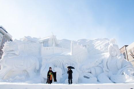 Ise Jingu Modern Legend, Sapporo Snow Festival 2013