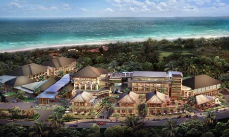 Overview of Mövenpick Resort & Spa Jimbaran Bali