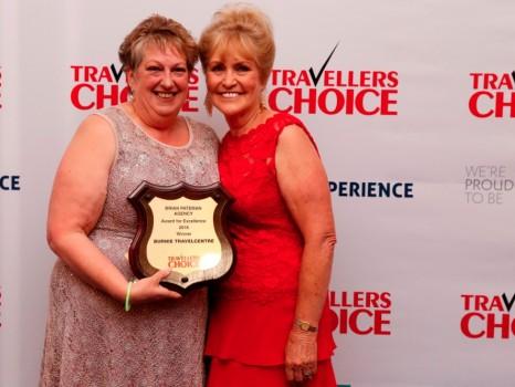 2016 Pateman winner, Kathy Granger, and Joan Pateman.