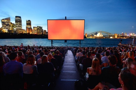St. George OpenAir Cinema 2015, Mrs Macquaries Road, Sydney 07.01.2015