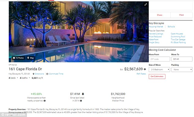 The fake Airbnb property