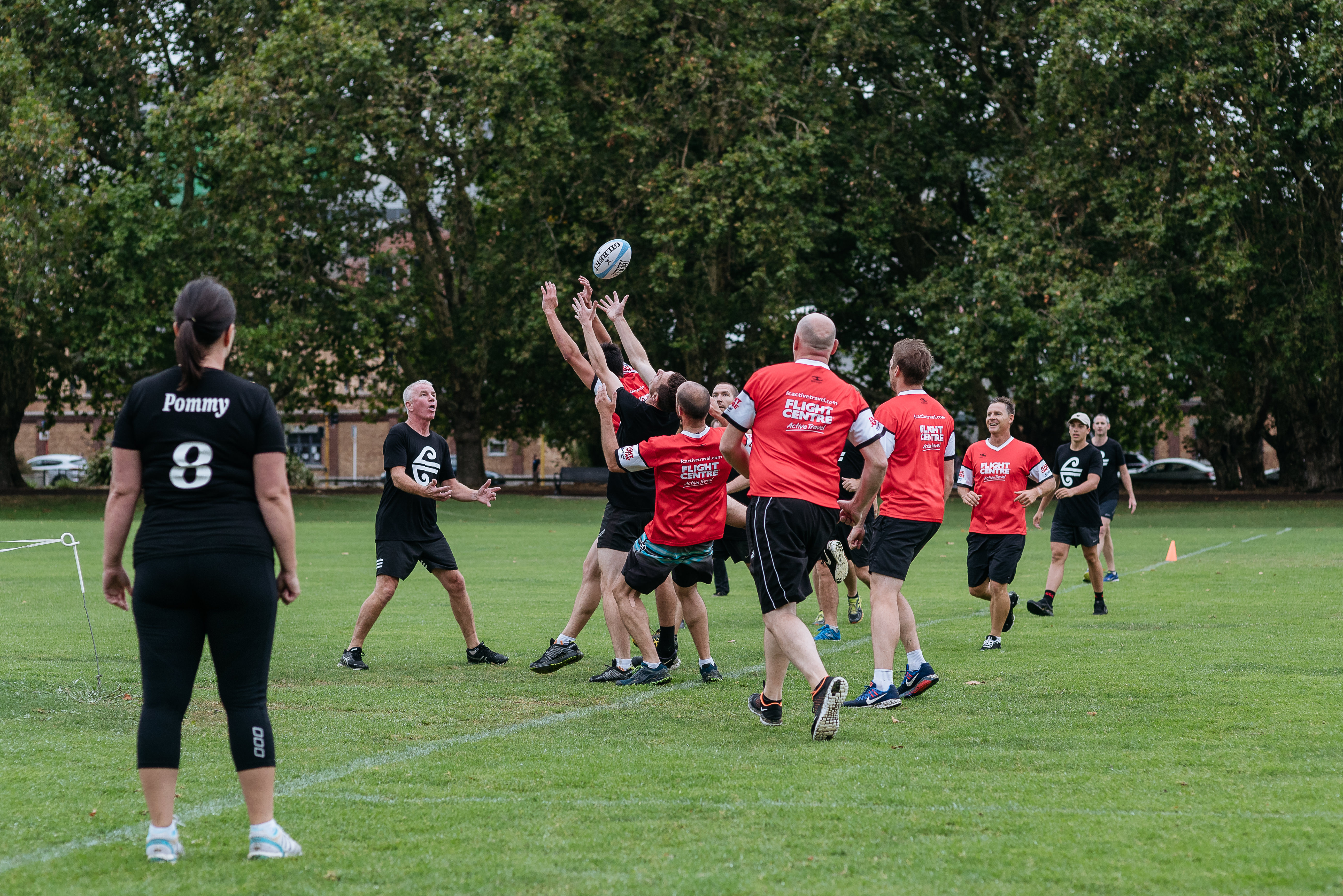 Air NZ vs Flight Centre - Touch Rugby-45