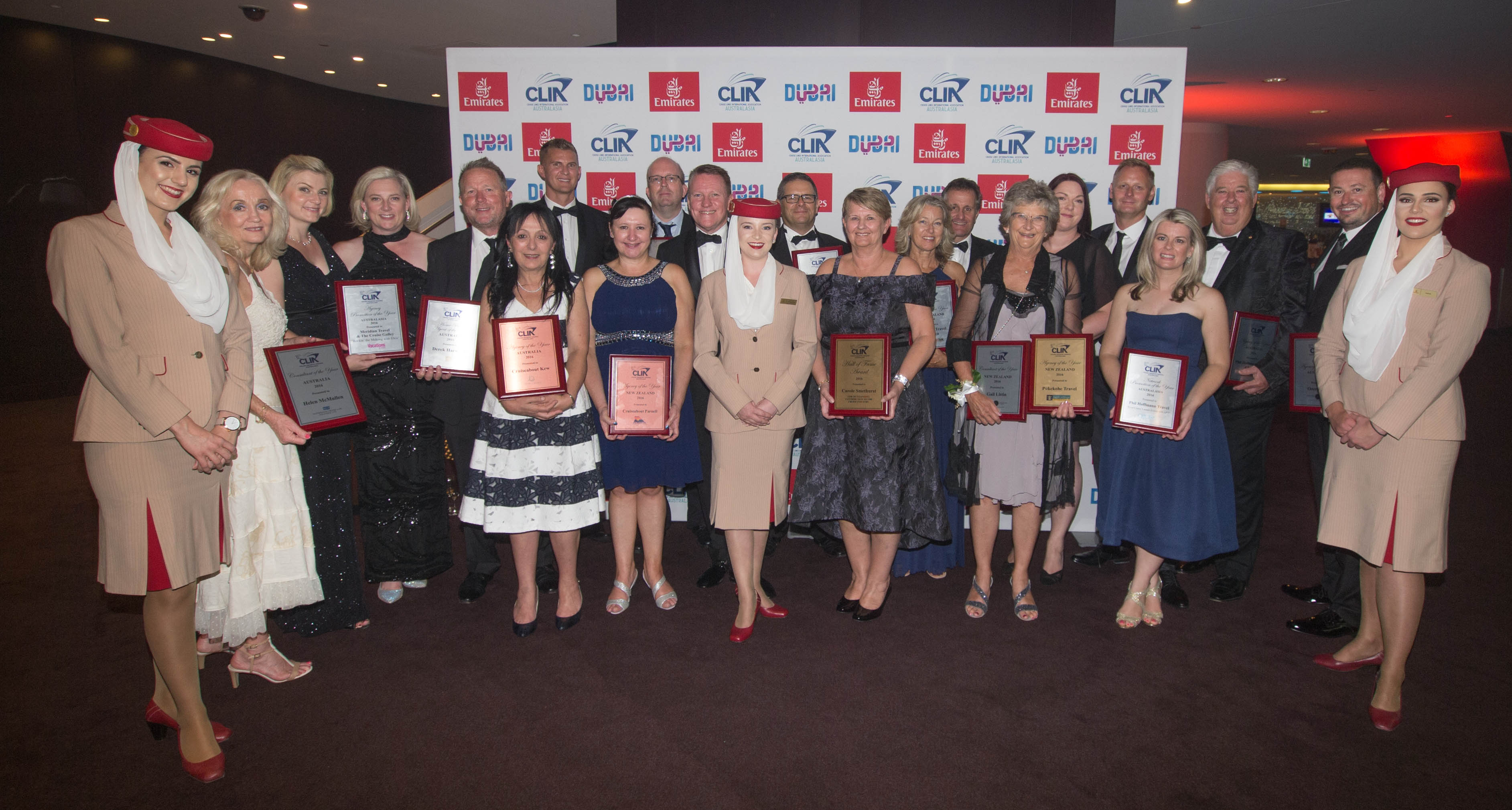 CLIA 2016 Cruise Industry Awards winners
