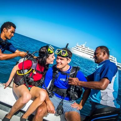Diving Boat CCC Fiji