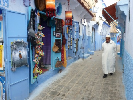 The fabled 'blue town' of Chefchaouen