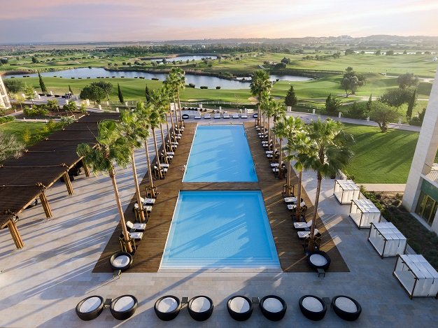 Anantara Vilamoura - main pool with golf course backdrop - low res