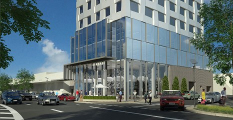Doubletree by Hilton Box Hill Render