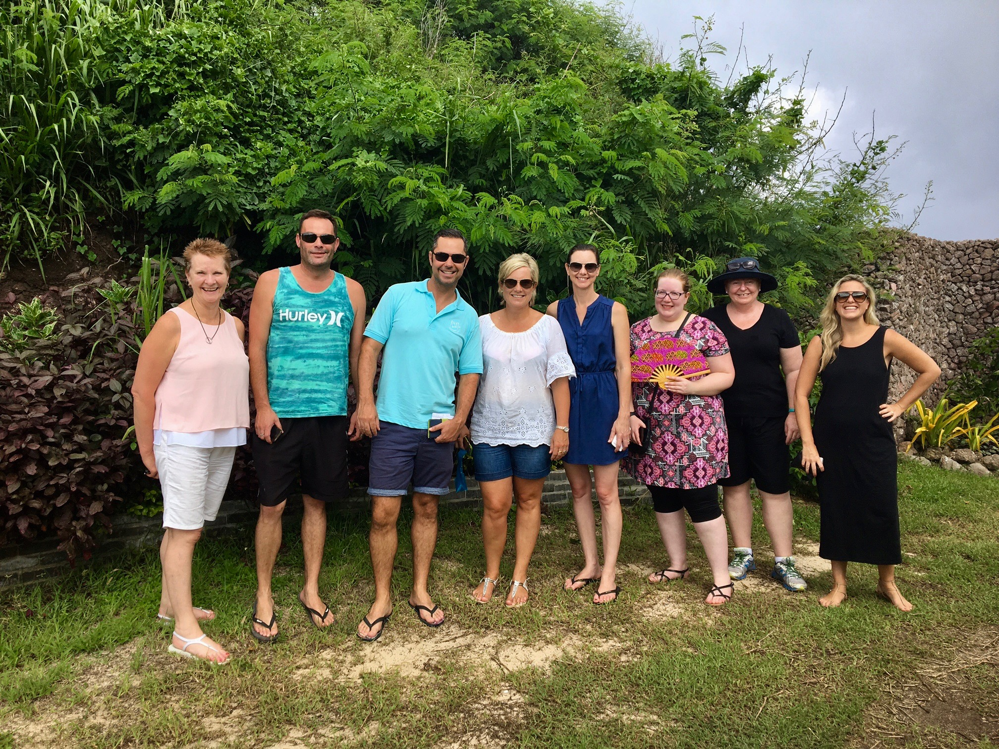 Diane Yates from Travel Managers, Stelios Missikos from MPS Travel & Tours, David McMahon from Tourism Fiji, Lisa McDonald from Lifestyle Travel Ballarat, Jacquelyn L'hostis from New England Travel Armidale, Emma Seymour from Patterson Lakes Travel & Cruise, Tina Lazell from Helloworld Everton Hills, and Astrid Martin from Traveledge Holidays