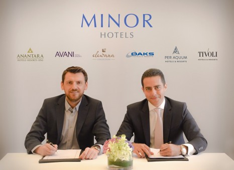 (left to right) Joe McCormack, Founding Partner, Crowngate International and Ramzy Fenianos, VP Development, Minor Hotels Europe, Middle East and Africa