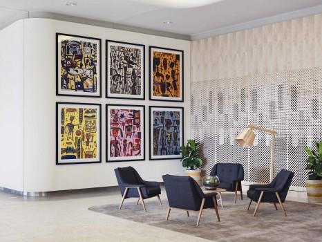 ARTSERIES_The Larwill Studio Lobby