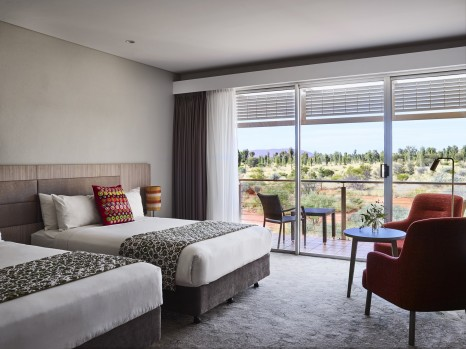 Deluxe Rock View Room at Desert Gardens Hotel