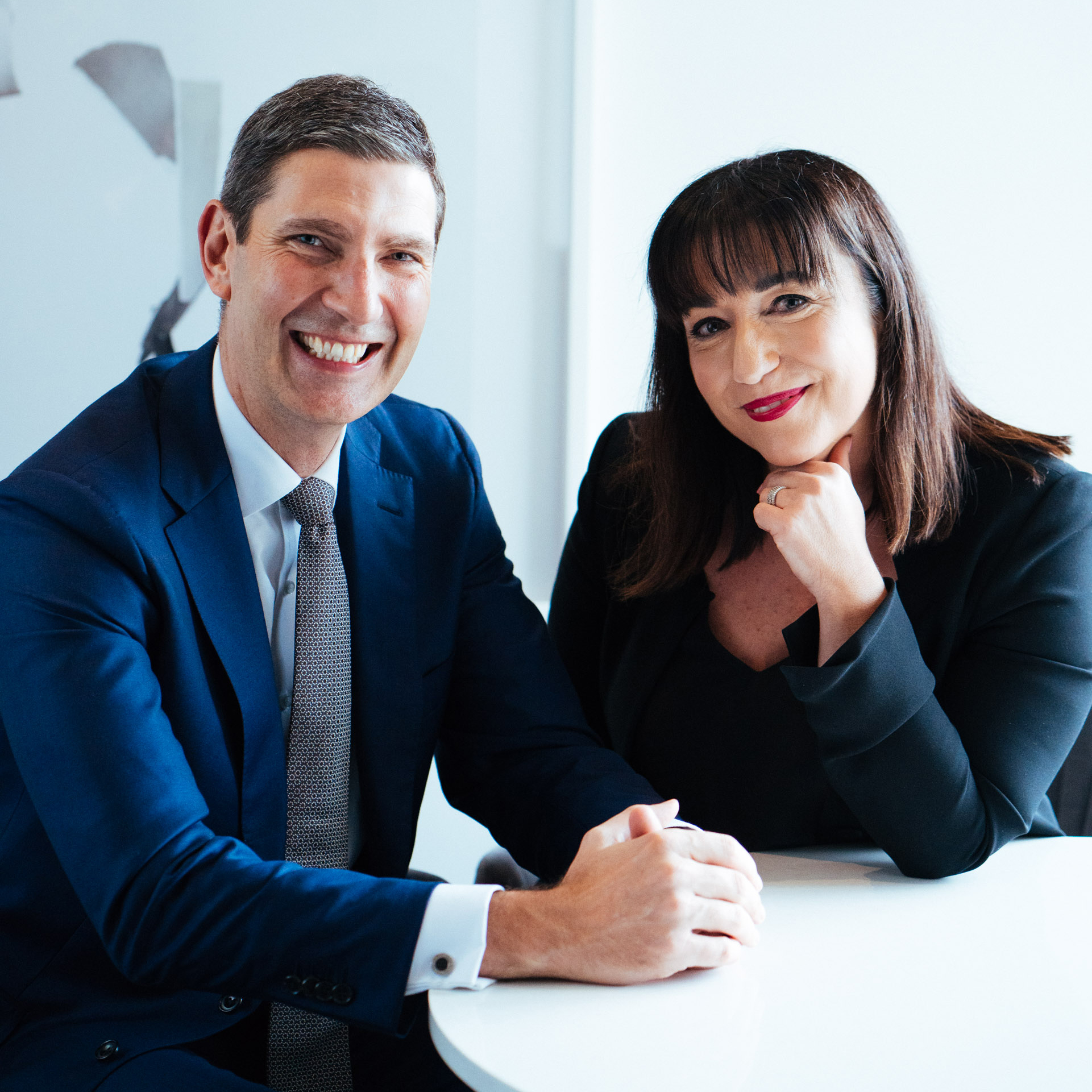 Four Seasons Hotel Sydney - Simon Barnett, Hotel Manager and Helen Radic, Director of Marketing