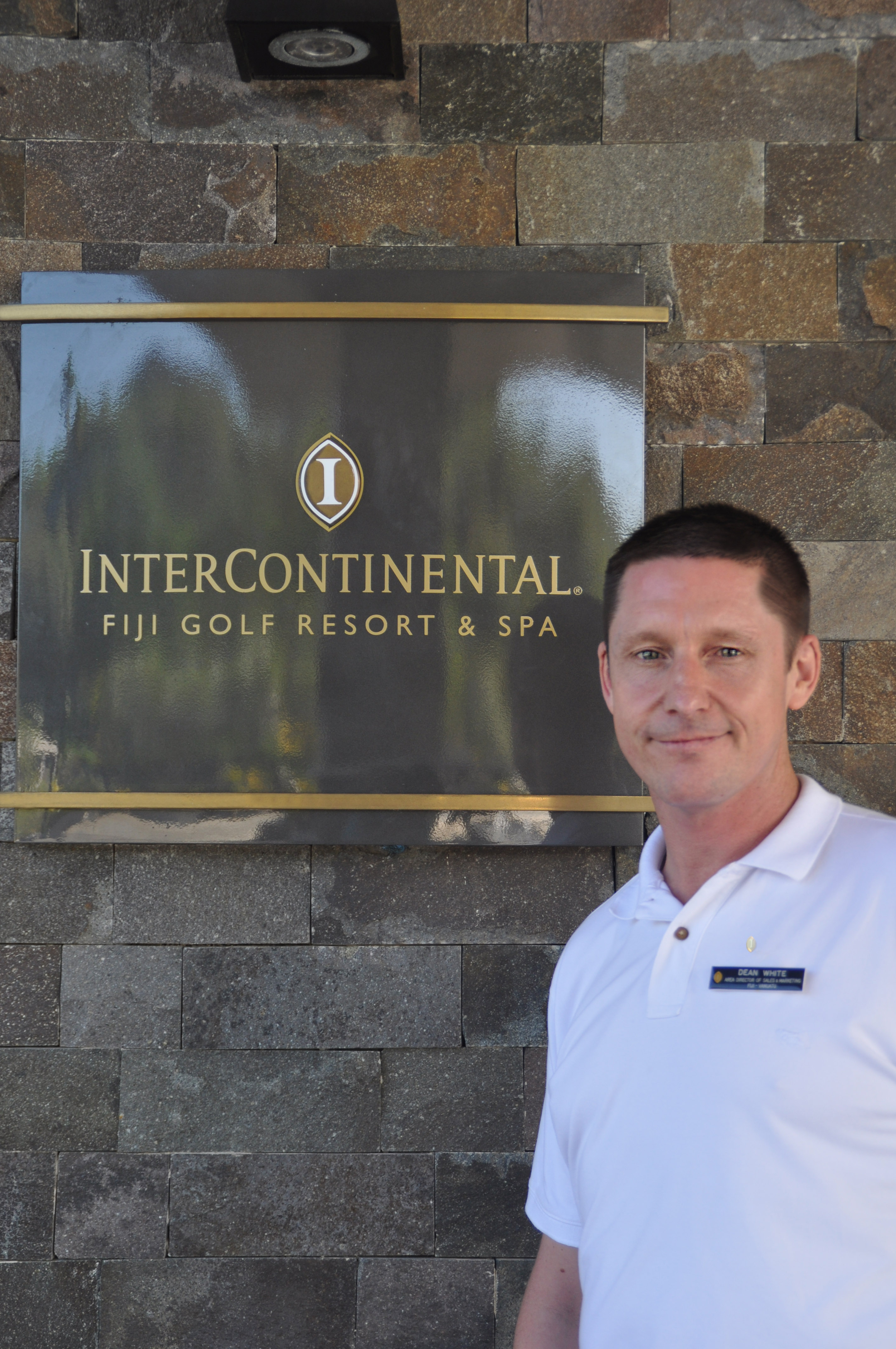 New Area Director of Sales & Marketing - Fiji & Vanuatu; Dean White at the InterContinental Fiji Golf Resort & Spa