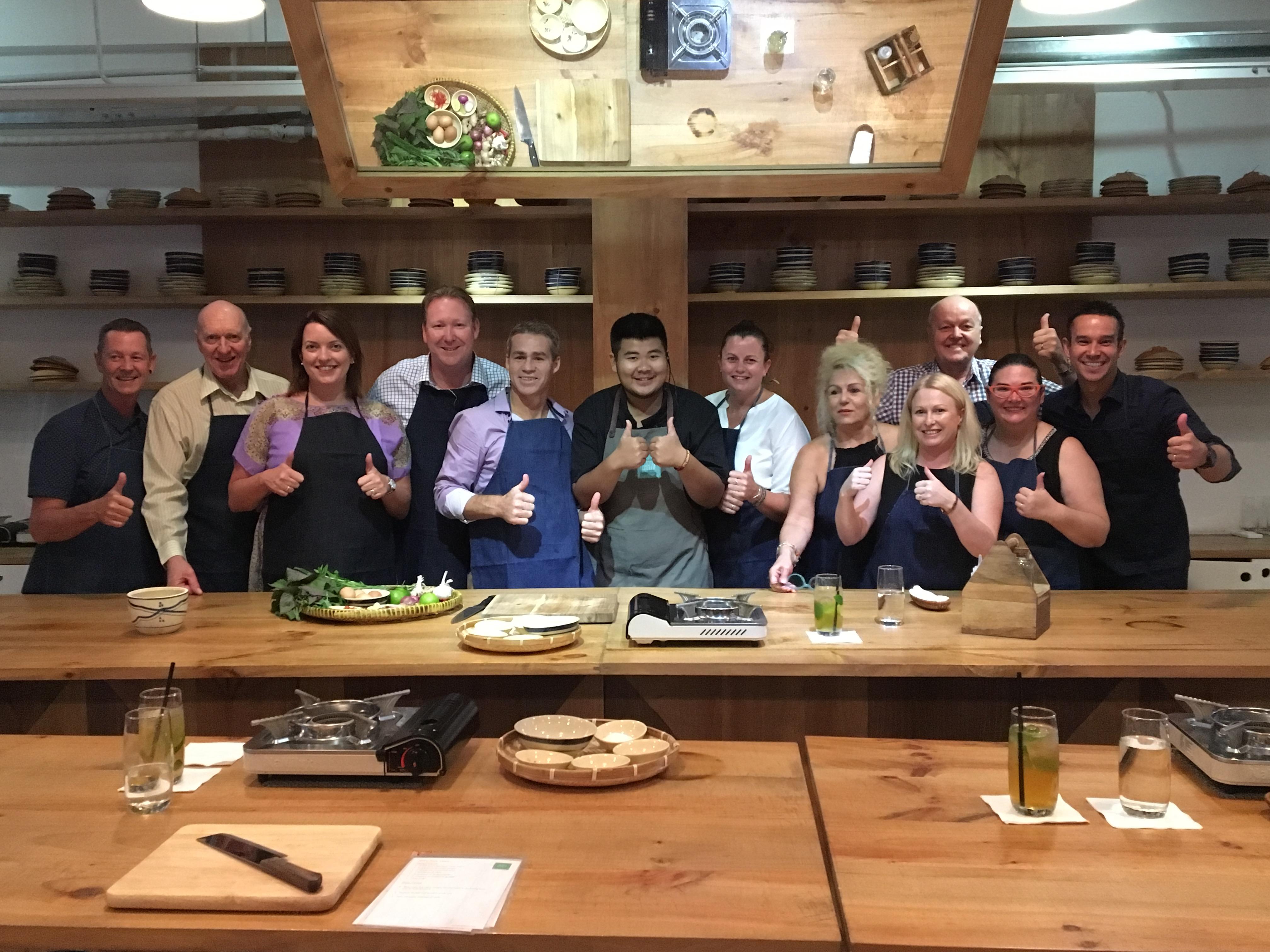 TC_Gold Choice Award trip_Grain cooking school Vietnam_2017