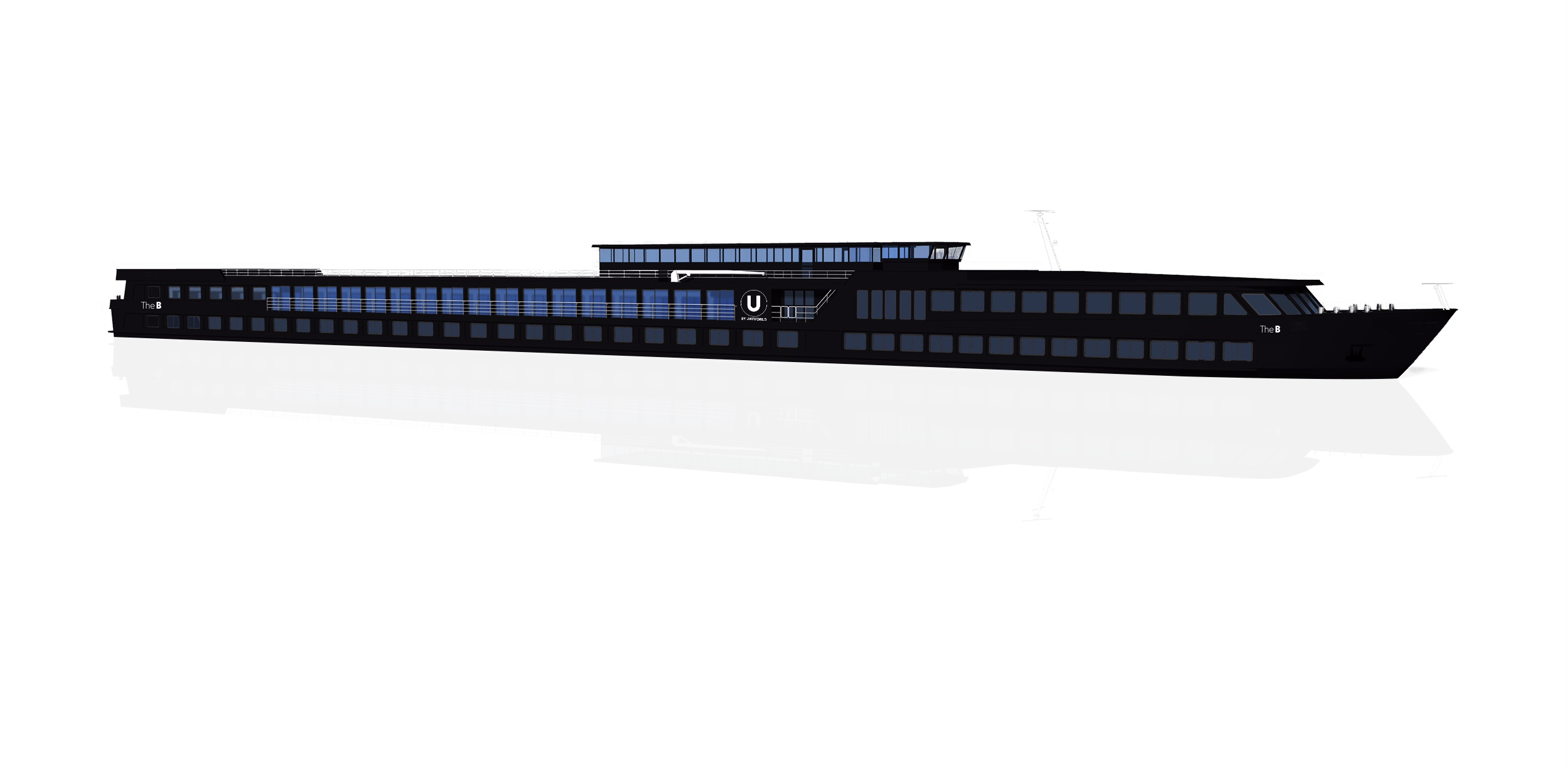 Artist rendering of the U by Uniworld ships - The A and The B