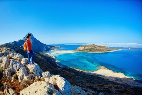 panoramic view on Balos beach Crete Greece. shutterstock_446003965