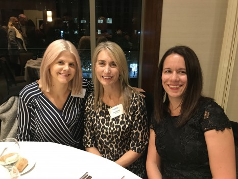 Casey Anderson (Hawthorn Travel & Cruise), Jacqui Bendall (Surrey Travel & Cruise), Amy Wyatt (Destination HQ).