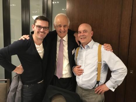 David Hummerston (Encore Journeys), Rob Mackie (Trans World Travel), David Stafford (Magellan Travel Group).