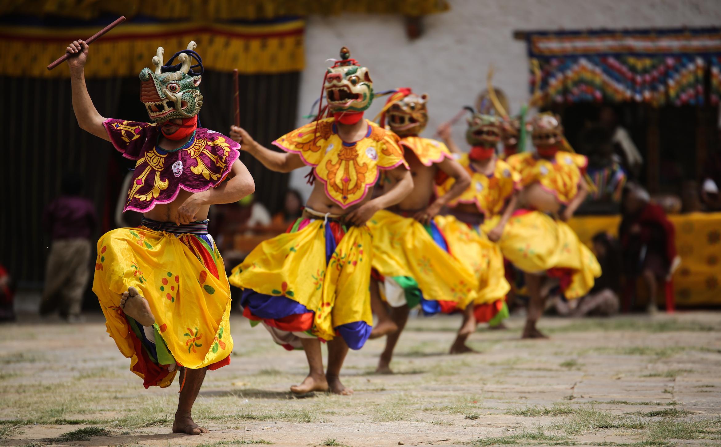 Masked Dancer_ Bhutan shutterstock_273612779(1) - Copy