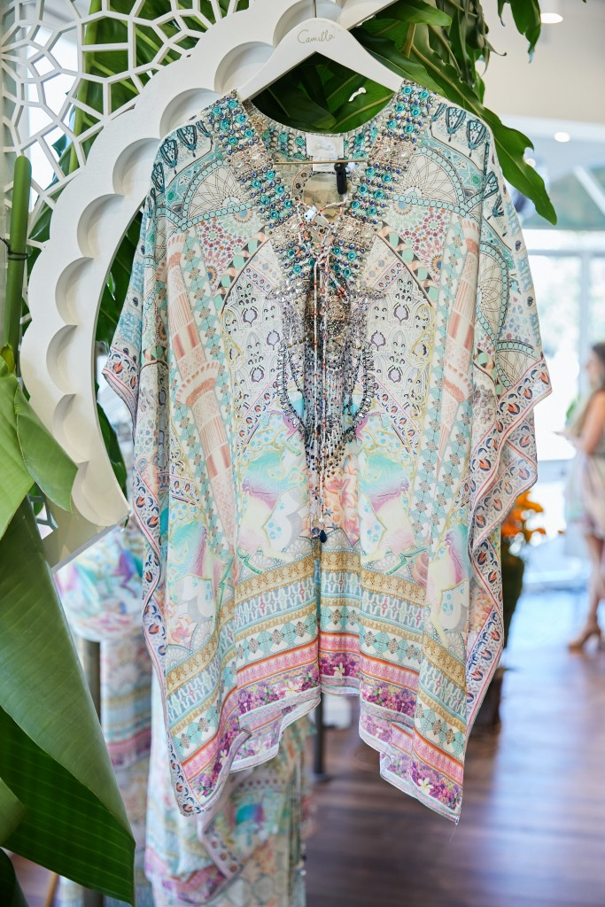 My Dubai Dream Short lace up kaftan