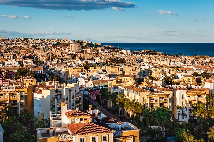 Cityscape of Torrevieja. Costa Blanca. Spain
