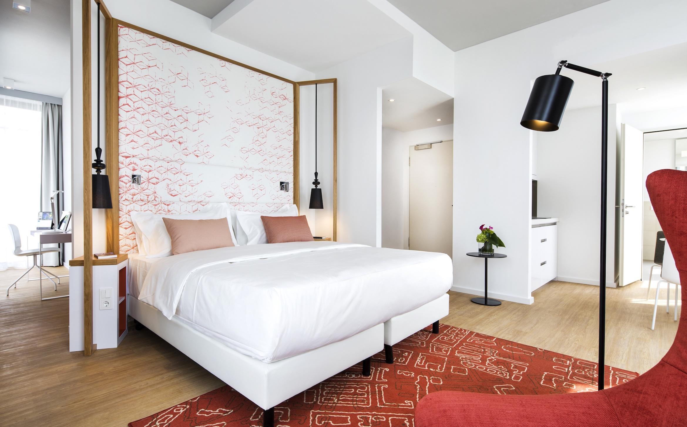 Capri Berlin - bedroom