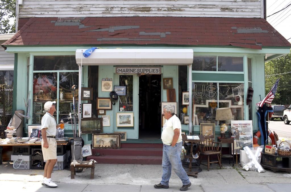 Marine Antiques Shop, City Island, Bronx