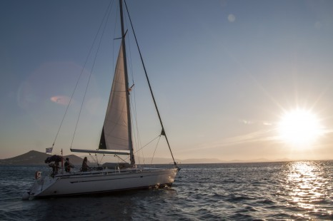Greece Naxos Sailing Sunset - Leo Tamburri 2011 - IMGP6491 Lg RGB