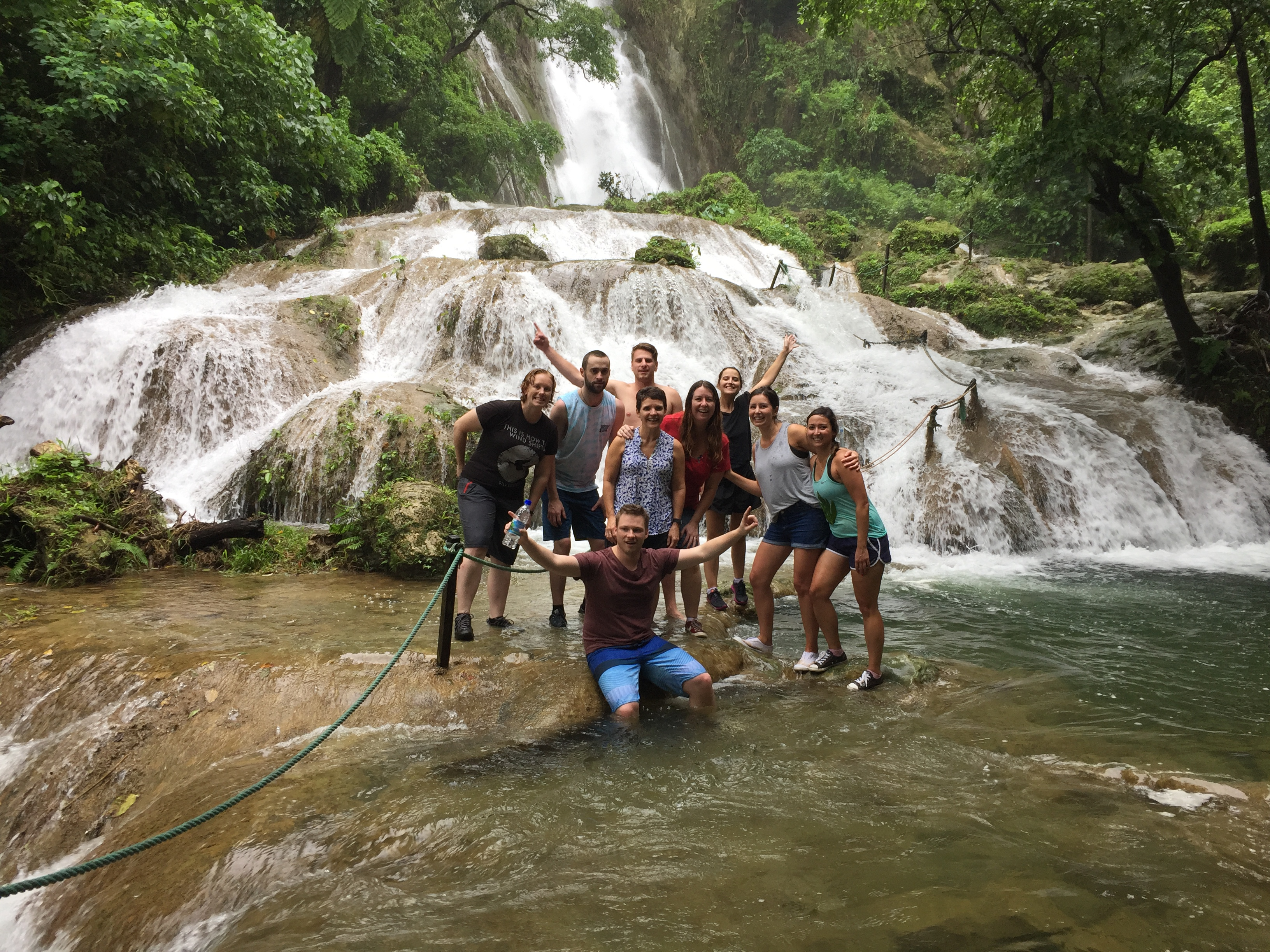 Hanna Shilo from Travel Projects recently returned from a famtrip to the idyllic island of the Dominican Republic with a selected small group of travel agents. They inspected some of the resorts in Punta Cana in the East and the Northern Coast of Cabarete, Sosua and Puerto Plata. The famtrip ended in the colonial capital of Santo Domingo. Here in the picture from left to right Josie McPaul from Bayview Travel, Sallee Vuletich from Travel Masters, James Jang from Where2Travel, Hanna Shilo from Travel Projects and Cindy Hazler from Holiday & Cruise Ballarat.