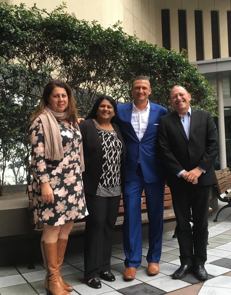Nanuku GM Sascha Hemmann and marketing team - June 2017 1