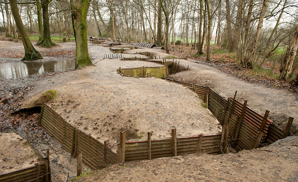 FRANCE_ypres_trenches_shutterstock_184731998
