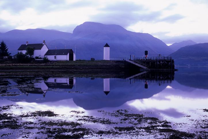 Corpach quay at dawn
