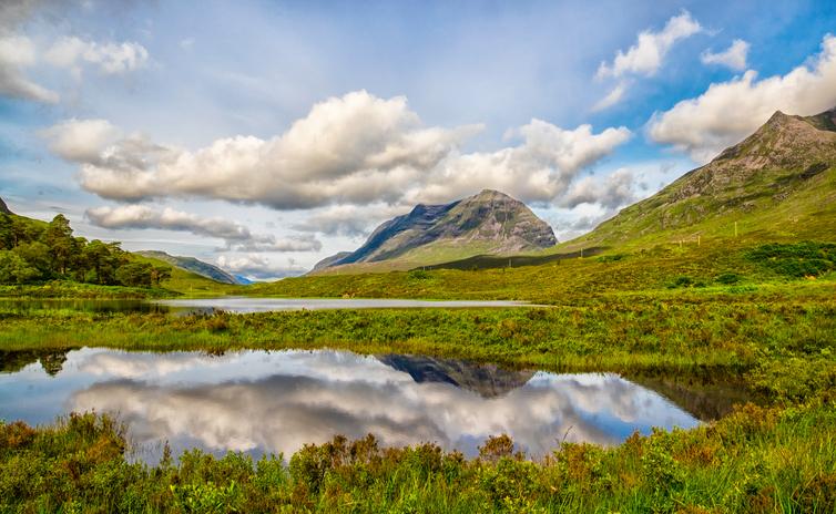 Scotland's Glen Torridon Scenic