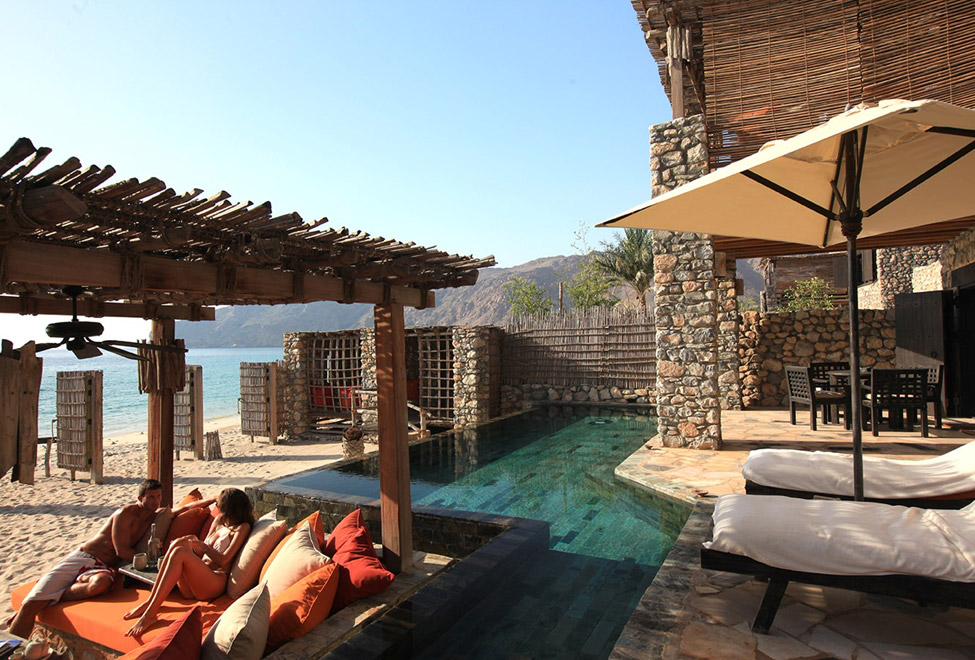 Zighy Pool Villa Suite Beachfront at Six Senses