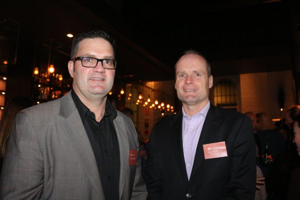 Pictured: Dale Woodhouse, Singapore Airlines & Andrew Mulholland, MD WWT