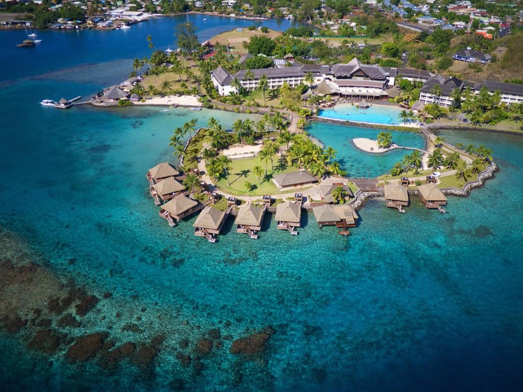 InterContinental Tahiti Resort & Spa - Aerial View